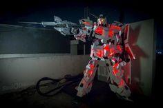 GUNDAM GUY: Gundam Cosplay: Unicorn Gundam [Destroy Mode]