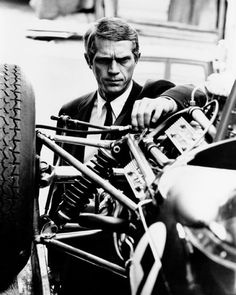 "1,479 Likes, 9 Comments - Sofia (@vintagemovieclub) on Instagram: ""Steve McQueen doing what he does best - looking cool.  #stevemcqueen"""