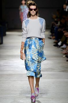 "Dries Van Noten Spring 2016 Modest doesn't mean frumpy. Sign up for modest fashion tips: www.ColleenHammond.com Do your clothing choices, manners, and poise portray the image you want to send? ""Dress how you wish to be dealt with!"" (E. Jean)"