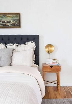 Neutral Bed Styling + Our Staged Guest Suite