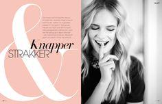 Editorial design JAN Magazine 6-2013 beauty
