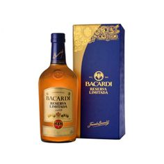 Bacardi Reserva Limitada Rum; The ultimate expression of Bacardi craftsmanship | spiritedgifts.com