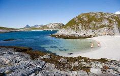 Paradisbukta i skjærgården utenfor Bodø   Fotograf: Terje Rakke / Nordic Life