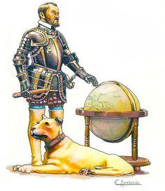 La Pintura y la Guerra. Sursumkorda in memoriam Conquistador, Renaissance, Spain History, Early Modern Period, Holy Roman Empire, Fantasy Fiction, Arm Armor, Military History, 16th Century