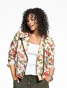 Floral moto jacket,  I have this!