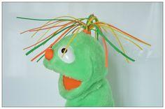 Muppet Hand Muppet, Handmade Muppet-Style, Muppet arm rod puppet, muppet style puppet #09