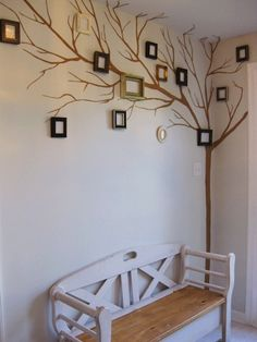 Picture frame family tree good-ideas