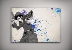 No Game No Life Anime Poster Wall Decor Watercolor Art Print Anime Gift n3
