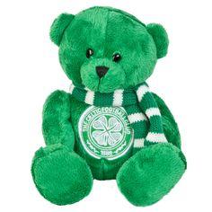 ca13cbd897b Celtic Small Teddy Bear with Scarf. Celtic Football Club