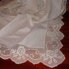Crochet Tablecloth, Crochet Doilies, Crochet Flowers, Cotton Crochet, Hand Crochet, Crochet Lace, Baby Knitting Patterns, Crochet Patterns, Crochet Hood
