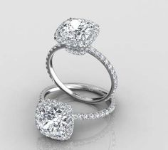 Cushion Cut Engagement Rings | Eternity By Yoni