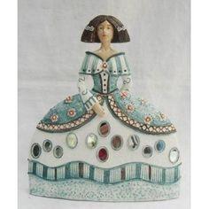 Figura Menina RESINA Paper Dolls, Art Dolls, Guernica, Portrait Art, Art Pictures, Art Lessons, Decoupage, Aurora Sleeping Beauty, Lily