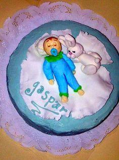 Torta baby shower bañada en chocolate hecha por Mariana's Cake. https://m.facebook.com/marianas.cake.7