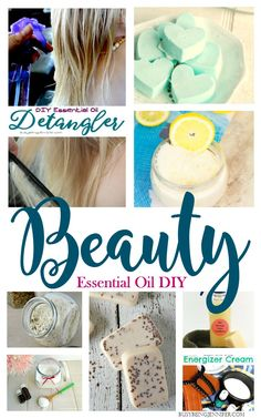Essential Oil DIY Beauty Recipes and Blends you've DEFINITELY got to try! BusyBeingJennifer.com
