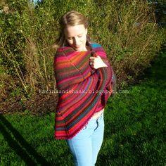 Karin aan de haak! Crochet - Shawl  - Pattern in Dutch