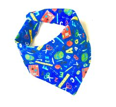 A personal favorite from my Etsy shop https://www.etsy.com/listing/256266822/school-teacher-baby-burpee-bandana-scarf