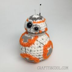 Ravelry: BB-8 amigurumi pattern by Allison Hoffman