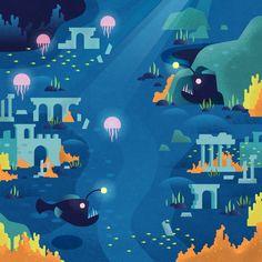 Matt Stevens illustration for Two Dots