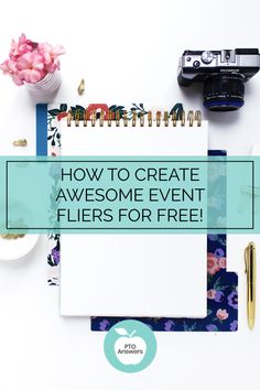 How to create awesome event flyers and posters for absolutely free! You'll be amazed at how simple it is to promote your school and PTA / PTO events with this step by step process! Pto Flyers, Event Flyers, Pto Membership, Pta Reflections, Make A Flyer, Flyer Free, School Fundraisers, Fundraising, Building Companies