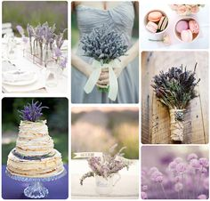 someday I am to have a lavender filled wedding...
