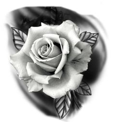 Design Tattoo, Floral Tattoo Design, Tattoo Design Drawings, Tattoo Designs, Rose Drawing Tattoo, Realistic Rose Tattoo, Simple Tattoos For Guys, Rose Tattoos For Men, Black And Grey Rose Tattoo