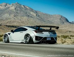 Acura Supercar, Acura Nsx, New Luxury Cars, Liberty Walk, Exotic Sports Cars, Fancy Cars, Tuner Cars, Futuristic Cars, Unique Cars