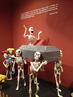 National Museum of Mexican Art, via Flickr. Culture embracing death instead of fearing it.