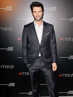 Adam Levine savors the sweet smell of success while debuting his signature men's and women's fragrances at Macy's in L.A. http://www.people.com/people/gallery/0,,20671389,00.html#21277643