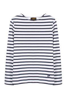 Le Mont St. Michel | Mariniere Stripe Sweater | MYCHAMELEON.COM.AU