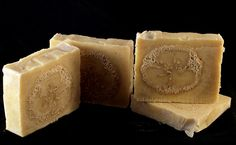 Calendula with loofah handmade soap