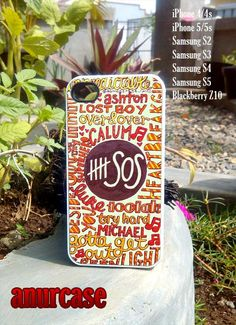 SOS Seconds Of Summer art iPhone 4/4s/5 Case Samsung by anurcase, $12.00