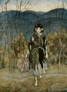 Catskin by Arthur Rackham 2