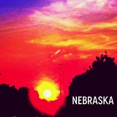 Omaha, Nebraska #cornhuskers #sunset