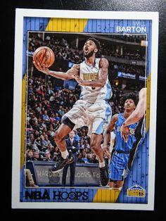2016-17 Panini Hoops #94 Will Barton Denver Nuggets Basketball Card #DenverNuggets