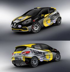 Renault Clio racing livery. We collect and generate ideas: ufx.dk
