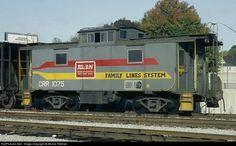 RailPictures.Net Photo: CRR 1075 Clinchfield Railroad Clinchfield Railroad caboose #1075 at Atlanta, Georgia by Bernie Feltman