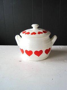 Vintage GRANIT Soup Tureen Small Hungarian Ceramic Soup Bowl