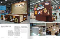 Very cool exhibition stand or transportable pop up kiosk! PopUpRepublic.com