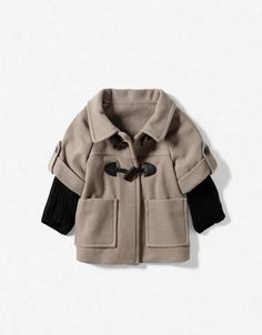 Love the coat - zara baby! Little Girl Fashion, Kids Fashion, Baby Coat, Zara Baby, Little Fashionista, Cute Outfits For Kids, Kid Styles, My Baby Girl, Baby Girls