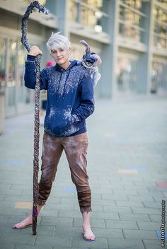 Jack Frost Kostüm selber machen | Kostüm Idee zu Karneval, Halloween & Fasching