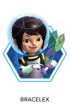 Printable PDF of Loretta's Bracelex to help with our DIY Miles From Tomorrowland costume efforts.