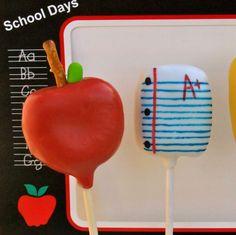 #BackToSchool Cake Pops - Foodista.com