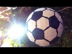 How To Make a Soccer Ball Pinata - DIY Home Tutorial - Guidecentral, My Crafts and DIY Projects