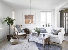 Ideas para una casa en blanco | Decorar tu casa es facilisimo.com