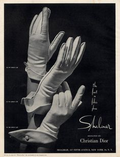 Christian Dior (Gloves) 1963
