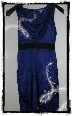 Vestito blu elettrico H