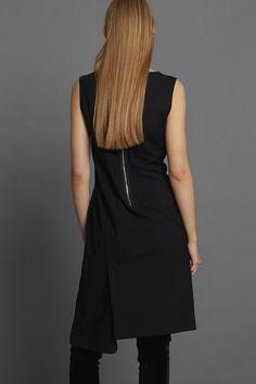 Appointed Dress - Black Minimal Beauty, Aw17, Winter White, Dress Black, Luxury Fashion, Dressing, High Neck Dress, Collection, Turtleneck Dress