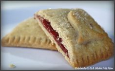 Gluten-Free Pop Tarts, I still can't believe it (and nevermind the goldfish, it's a bonafide illness of mine)! :-D I have attempted homemade gluten-free pop tarts many times over the years using various recipes that call for pie crust.  While the end results were always tasty, they were not the