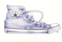 How to draw a baseball boot by Andrea Joseph - amazingly talented lady.