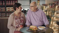 AbanCommercials: Tim Hortons TV Commercial  • Tim Hortons advertsiment  • Perfect Pairings: Kostas and Nicky #TimsPerfectPairings  • Tim Hortons Perfect Pairings: Kostas and Nicky #TimsPerfectPairings  TV commercial • When you find the right one, you just know. Tim Hortons Guests Kostas and Nicki share their Perfect Pairings. #TimsPerfectPairings